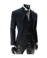 leather coat men - New Arrivals Men Casual Black Gentle Suits Men Winter Coat Men Windbreaker Men Hooded Coat Men Outwears Men leather jacket