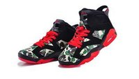 red monkey - Cheap Athletic Sport Shoes Mens Basketball Shoes Air Retros J VI Black Red Monkey Men Shoe Flat Retro Infrared Camouflage Size