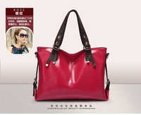 Wholesale New Arrival Fashion Women Lady Real Leather Shoulder Bags Motorcycle Handbags Classical Casual Bag Multi Colors F072