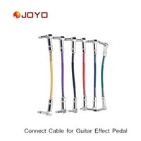 electric cable - Joyo Guitar Pedal Cable Colorful Connect Cable for Amplifier Amp for Electric Guitar set I465