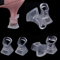 high heel stoppers - 1 Pair High Stiletto Heel Protector Latin Dancing Shoes Covers Stoppers Antislip Heel Protectors for Bridal Wedding Party