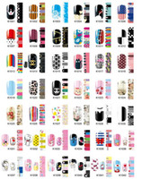 Wholesale 500pcs Beautiful Animal Floral Women Girl Nail Polish Stickers DIY Nail Paste Easter Decals Adhesive Nail Stickers