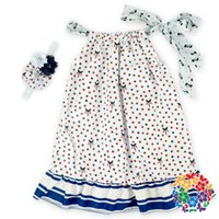 baby smocked dresses - sets Fashion Dress Factory Handmade Smocked Dress Baby Girl Cotton Pillowcase Dresses Fit Years Old