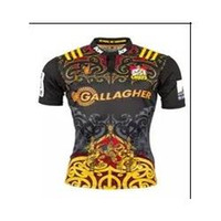 Wholesale Top thailand quality New Zealand chiefs football team Rugby Jersey Best Quality home Rugby Shirt World Cup agentina home from
