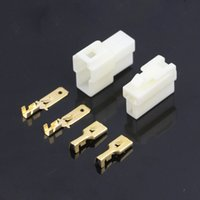 electrical plugs and sockets - sets mm Way pin Electrical Connector Kits Male and Female socket plug for Motorcycle Car