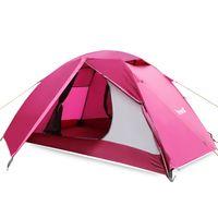 Wholesale Polyester Mesh Camping Tents Doors High Tensile Aluminium Person Tent Camping Gear Four season Tent