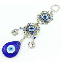 Wholesale handmade craft european fashion turky exorcise evil spirits counteract evil force hanging jewelry turkish blue evil eye