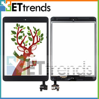 Wholesale For iPad Mini Mini Touch Screen Digitizer Assembly with IC and Home Button Installed Black White Low Price AA0082