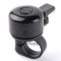 Cheap Wholesale-For Safety Cycling Bicycle Handlebar Metal Ring Black Bike Bell Horn Sound Alarm