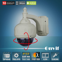 Wholesale ONVIF P PTZ Network IP Camera fps IR Outdoor P2P Video Surveillance Day Night Zoom mm Lens Security CCTV Camera