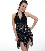 Cheap One Pieces leopard print swimwear Best Spandex Polka Dot one pieces Swimsuit
