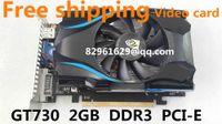 Wholesale NEW For Desktop Office DDR3 GB Memory Bit GT730 Graphics Card Video Card Placa De Video For