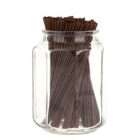 Wholesale 500pcs set Disposable Coffee Straws Drinking Plastic Straws Two Holes Hot Drinks Stirring Rods order lt no track