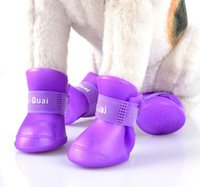 best rain boot - Best price Brand new Lovely Portable Pet Dog Waterproof Boots Rain Shoes