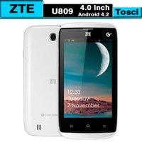 Cheap GSM900 Cheap 4.0 inch ZTE U809 Best Android ZTE MTK6572 Dual Core 1.2GHZ