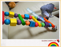 Wholesale Large and medium sized Parrot Bird Toy climbing ladder parrot toys toys large Grey Parrot Macaw