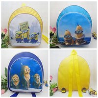 Wholesale Despicable me Bag Backpack Children School Bag PreSchool Bag Kids Backpack Boys Girls School Bag Child School Bag New Kids School Bag