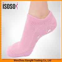 Wholesale 2015 Beauty Oil Gel Gloves Moisturizing For Hand Mask Men And Women Silicone Heel Full Foot Crack Socks Whitening Moisturizer order lt no tr