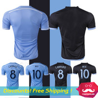 footballs - New York City Jersey Chandal NYC FC Jersey football shirt LAMPARD MIX DAVID VILLA New York City soccer jerseys