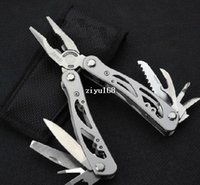 multi purpose knife - Outdoor Sporting Goods Multi purpose Tool Clamp Multi function Combination Pliers Self defense Mini Multi function Knife PliersT