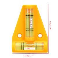 Wholesale Audew Way Mini T type Spirit Level Tool For Trailer Caravan Motorhome Van Console Table