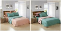 Wholesale New Arrival Bedspread Cotton Colors Both Sides Used Solf Comfortable Portable Type Coverlet Set Home Textiles for sale