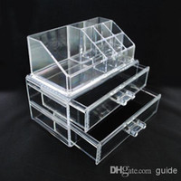 Wholesale Clear Acrylic Cosmetic Jewelry Organizer Makeup Box Case High Quality