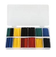 Wholesale 280pcs Assortment Heat Shrink Tubing Tube Sleeving Wrap Kit Boxed Colors
