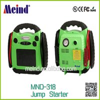 Wholesale Car Jump Starter MND MultiFunction Car Battery Charger Rechargeable Battery Meind