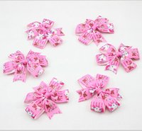 ribbons and bows - New Hello Kitty Ribbon Pinwheel Hair Bows with Clip for Girl and Woman Hair Accessories Boutique Bow Clips for Hair