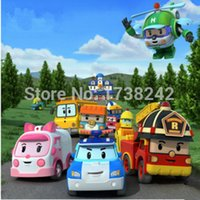 Wholesale 2015 High quality Set Korea robot classic plastic Transformation Toys Toys Best Gifs For Kids