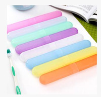 Wholesale Travel Hiking Camping Toothbrush Holder Case Box Tube Cover Protect New