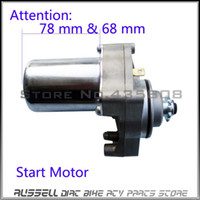 atv starters - Electric starter motor starting motor installation hole FIT ATV Dirt bike motorcycle off road cc cc