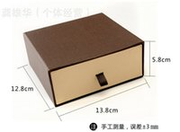 cardboard gift boxes - Hot Drawer Gift Box Belt Strap Package Storage Box Belts Case Cardboard Boxes Luxurious Present Boxes EMS shipping