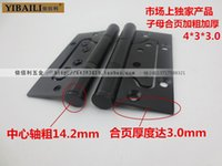 Wholesale Genuine Black Picture hinge according to Bai Li Continental hinge hinge bold black inch thick