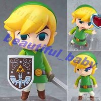 Wholesale New Arrival Hot Nendoroid The Legend of Zelda link action figure toy doll
