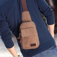 bicycle dress - Men s Casual Small Canvas Vintage Shoulder Hiking Fanny Crossbody Bicycle Bag Messager bags