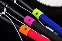 best audio cables - Best Audio cable phone camera self timer shutter for iphone Samsung Portrait controler handheld Selfie stick mm not bluetooth monopod