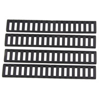 Wholesale Funpowerland High quality Ladder Slots Low Profile Rail Covers pack Black For Handguard AR15 M4 DS9525A