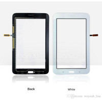 Wholesale White Black For Samsung Galaxy Tab Lite T110 Touch Screen Digitizer Version Touch Panel Replacement