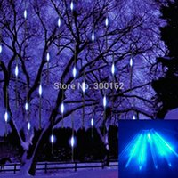 Wholesale 50cm Meteor Shower Rain Tubes Outdoor Holiday Light New Year Decoration Christmas Lights Strings