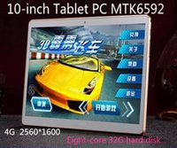 Cheap 10 inch Tablet PC MTK 6592 eight-core 4G HD IPS screen calls WiFi 2560 * 1600 32G 64G Tablet PC