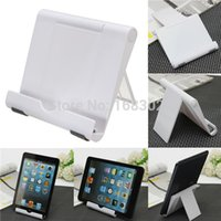 Wholesale White Portable Adjust Angle Stand Holder Support Bracket Mount For Tablet for ipad Phone for Galaxy