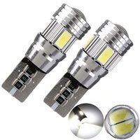 Wholesale 2x T10 W5W LED SMD Canbus Error Free White High Power Car Auto Interior Side Wedge Light Bulb V K Ship Free