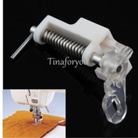 Wholesale 1Pc Mini Portable Household Multifunctional Tool Sewing Machine Brother Darning Embroidery Darning Quilting Foot