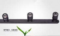 Wholesale High Quality W AC v V LED Showcase Light Jewelry Display Cabinet Spot Lamp Black Silver high mm