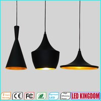 abc stores - ABC Beat LED Pendant Lights Chandeliers Ceiling Lighting Fixtures for Bar Dining Hotel Mall Store with White Black Ac100 to V FCC CE
