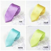Wholesale 2015 Brand Fashion Designer Style Silk Ties for Men Solid Celebrity Pajaritas Gravata Slim Mens Neck Skinny Tie