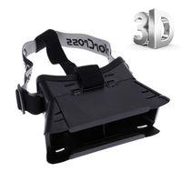 Wholesale Google VR D Glasses Virtual Reality D Glasses for quot Smartphone Google Cardboard Head Mount Headband V842
