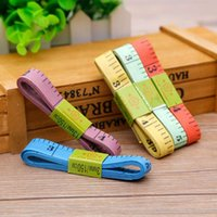 Wholesale Measuring Tape Sewing Soft Ruler Sewing Tailor Body Flexible Ruler Tool Colorful
